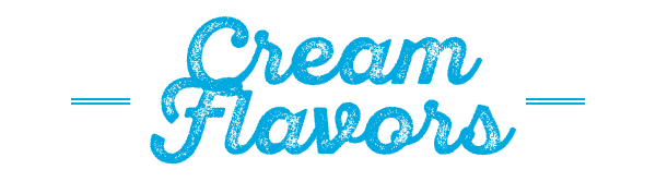 DeMarco's Cream Flavors